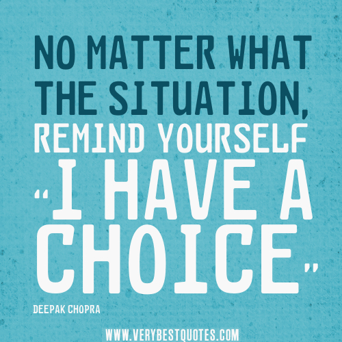 Quotes About Choices In Relationships. QuotesGram